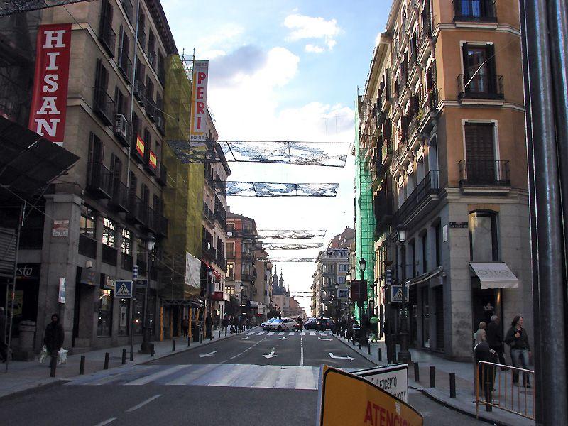 Mas placas luminosas. Navidad 2006 en Madrid