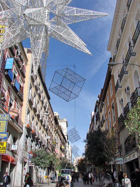 Montera2006. Navidad 2006 en Madrid
