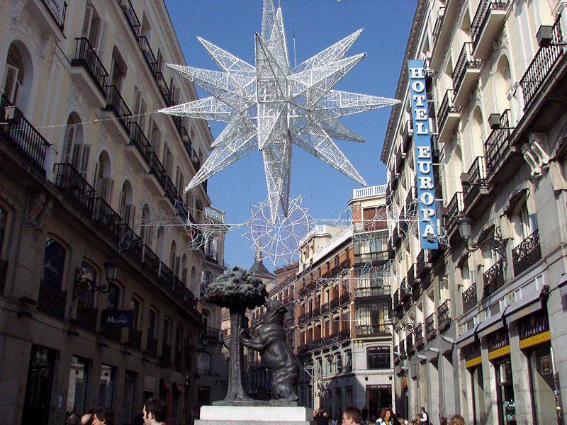 OsoNov2006. Navidad 2006 en Madrid