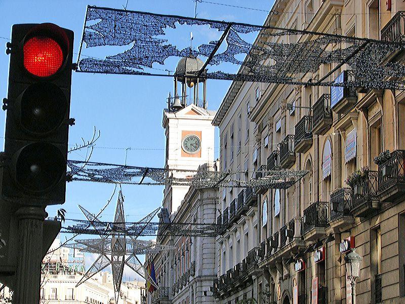Puerta del Sol. Navidad 2006 en Madrid
