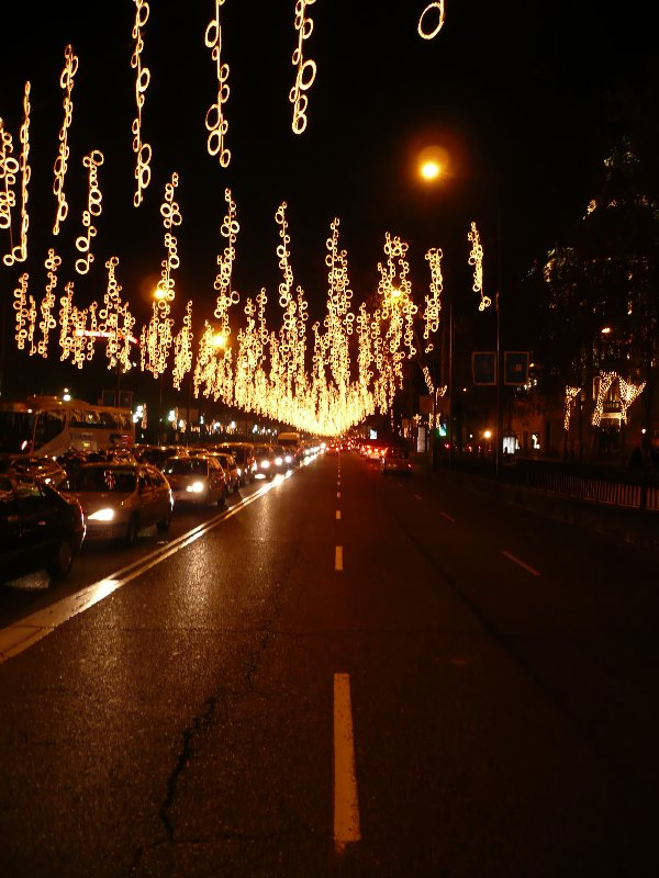 Aros. Navidad 2007 en Madrid