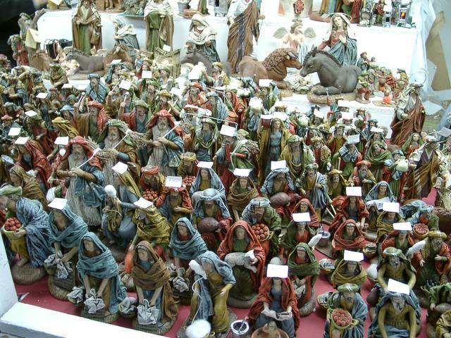 Ejercito de figuritas. Navidades anteriores
