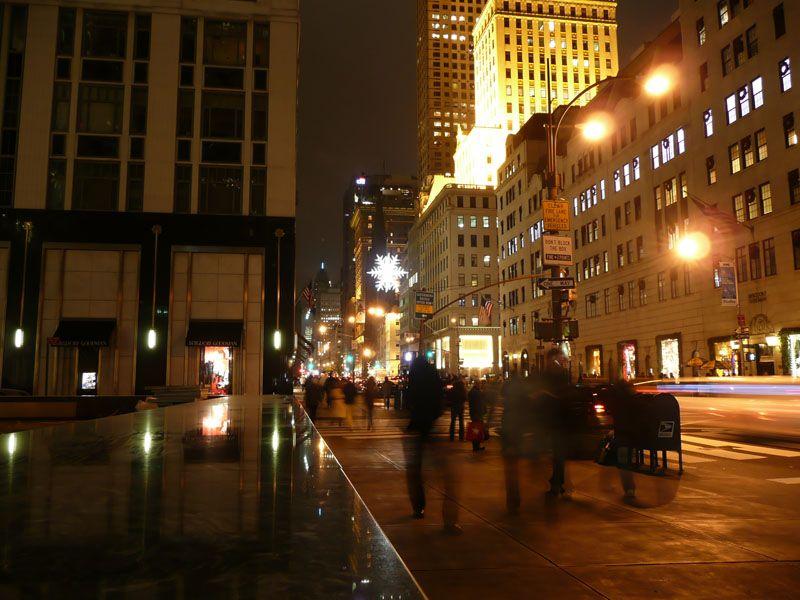 Estrella en Quinta Avenida. Nueva York (USA)