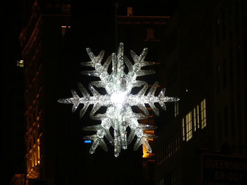 Gran estrella de la Quinta Avenida. Nueva York (USA)