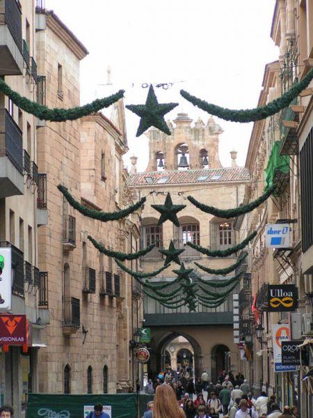 Calle_Zamora. Salamanca (España)