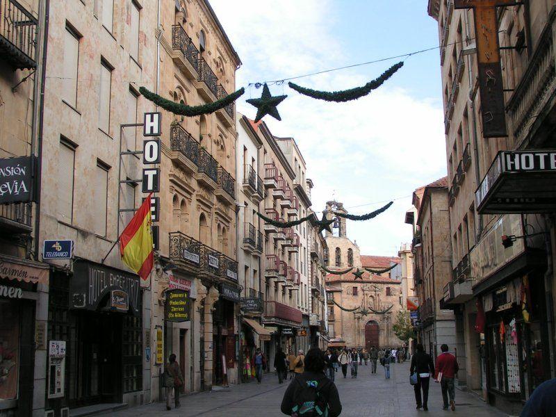 Rua Mayor 3. Salamanca (España)