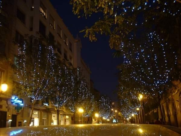 Calle centrica de Sevilla. Sevilla (España)
