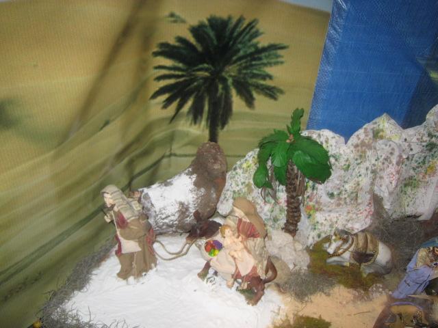 Huída a Egipto. Belén de Zucy de Pelle (Huehuetenango)