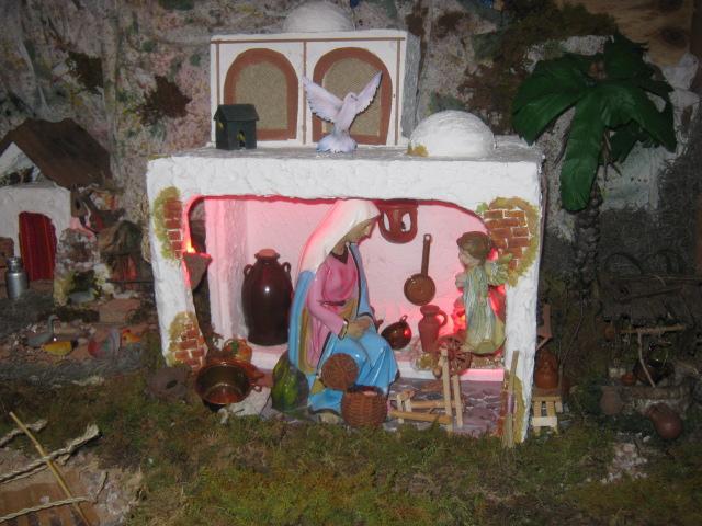 Anunciación del Angel Gabriel a María. Belén de Zucy de Pelle (Huehuetenango)