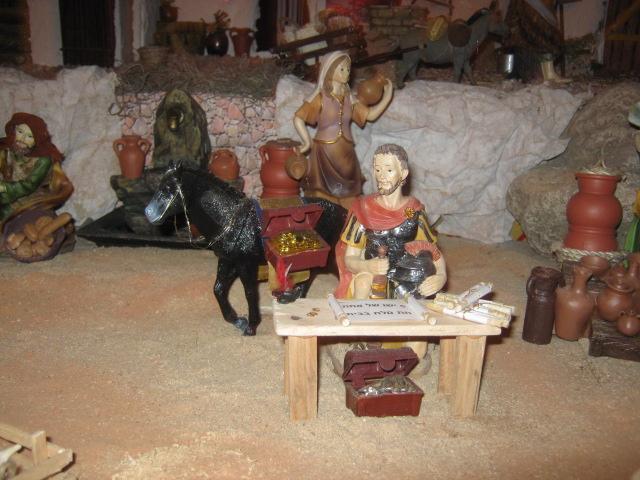 El empadronamiento. Belén de Zucy de Pelle (Huehuetenango)