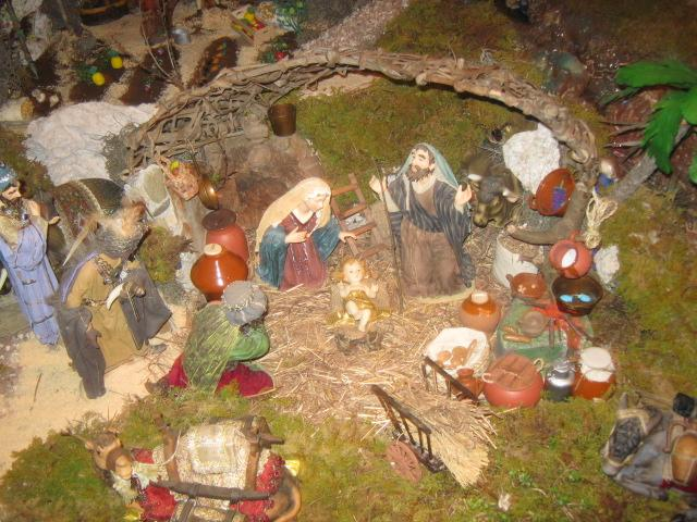 nacimiento de Jesús. Belén de Zucy de Pelle (Huehuetenango)