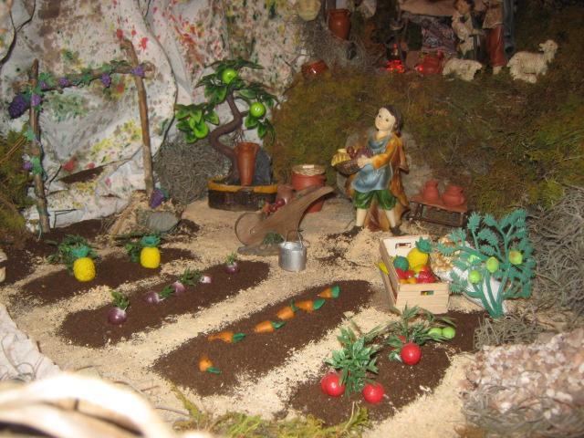 El huerto. Belén de Zucy de Pelle (Huehuetenango)