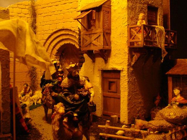011 Reyes Magos entrando a Belen de Judea. Belén de Mauricio (Guatemala)