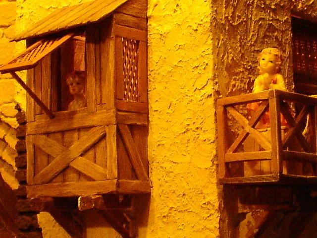 012 Niños pastores en su casa. Belén de Mauricio (Guatemala)