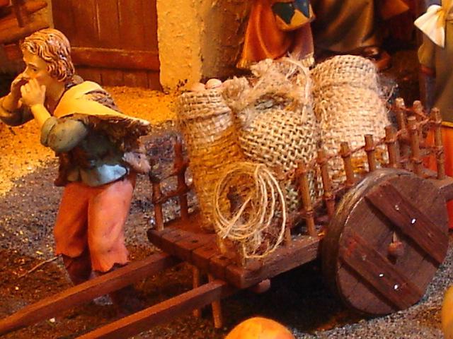 Un Vendedor. Belén de Mauricio O. (Guatemala)