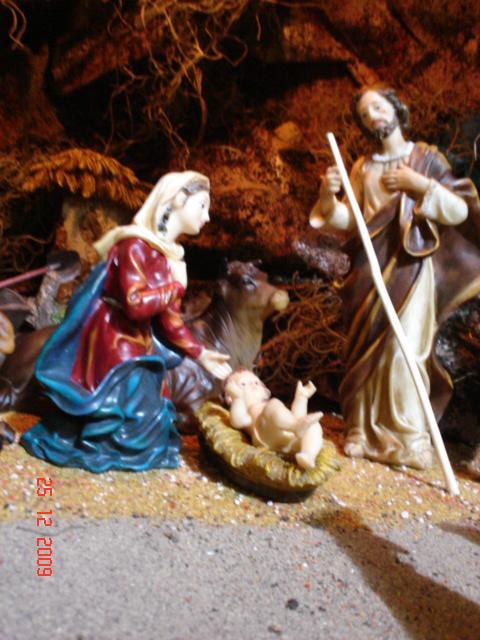 002 La Sagrada Familia. Belén de Mauricio (Guatemala)