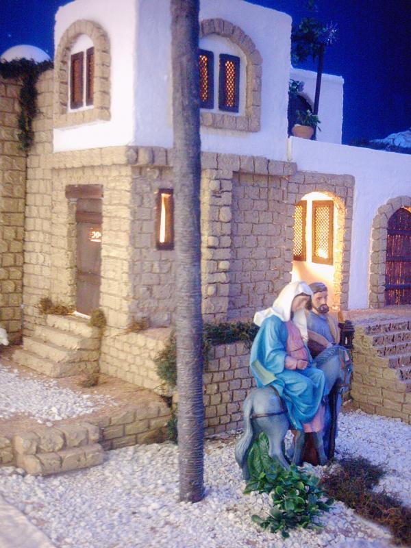 La Virgen y San José llegando a Belén 2. Belén de Fernando Leguizamón (Metán, Salta)
