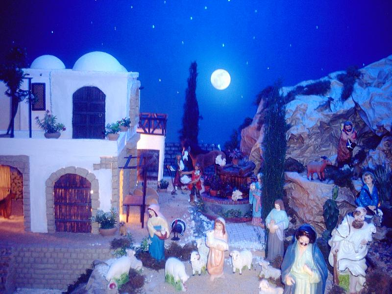 Es de noche en Belén. Belén de Fernando Leguizamón (Metán, Salta)