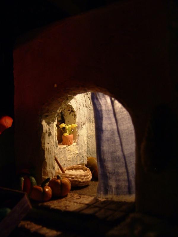 Nacimiento 2006 (2). Belén de Beatriz G. Cavero (Fuseta, Algarve)