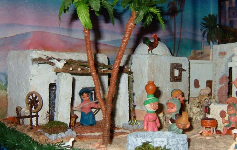 Nacimiento 2006 (5). Belén de Beatriz G. Cavero (Fuseta, Algarve)