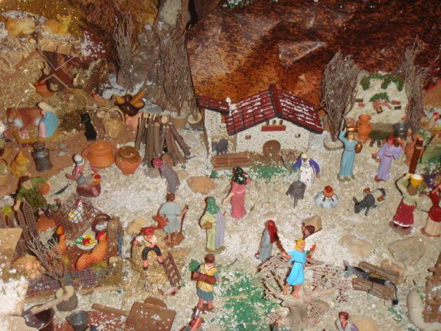 Los pastores camino del portal de Belen. Belén de Carmen Carlota Ordás Gómez