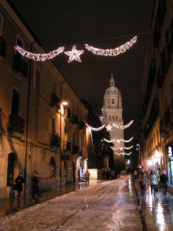 Calle Rúa Mayor. Salamanca (España)