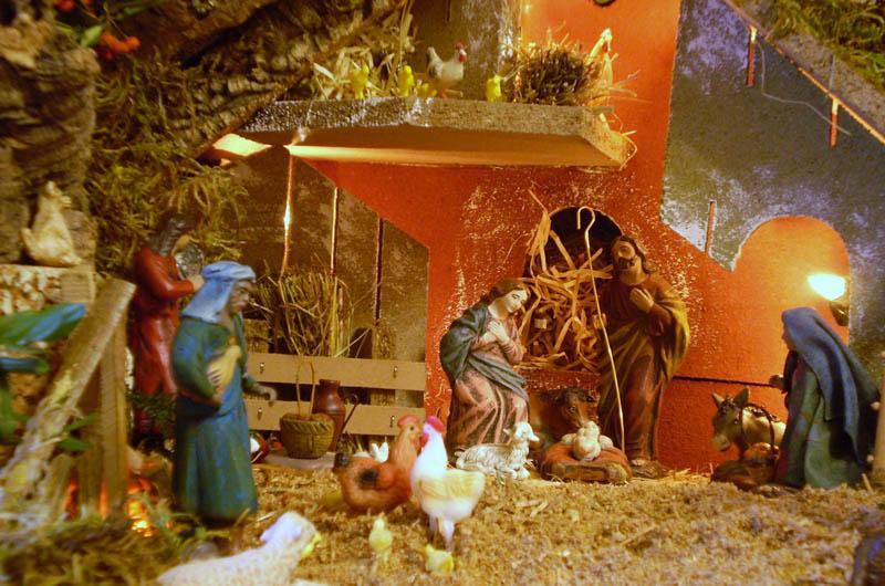 Navidad 2009 032. Belén de Chema (Avilés, Asturias)