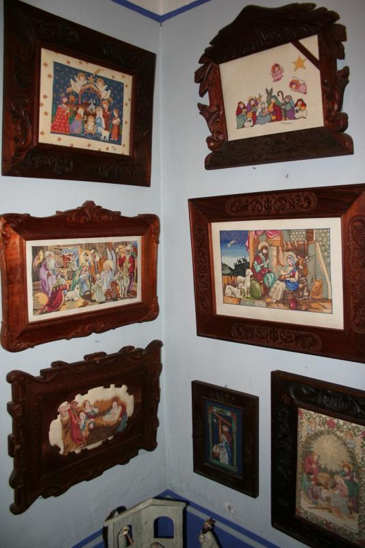 099 cuadros de pared: nacimientos en punto de cruz. Belén de Maritza Bravo
