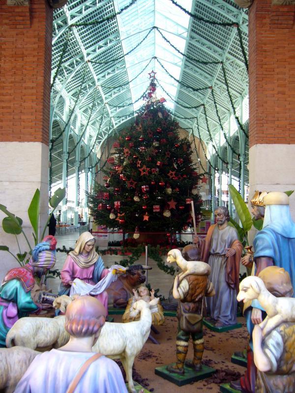 valencia navidad belen merc colon. Valencia (España) (Valencia)