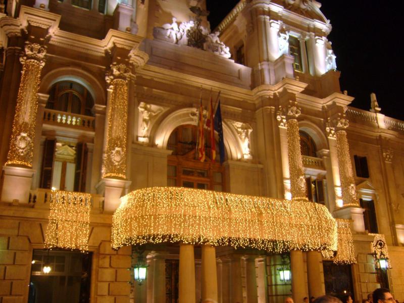2007 navidad pza ayuntamiento (2). Valencia (España) (Valencia)