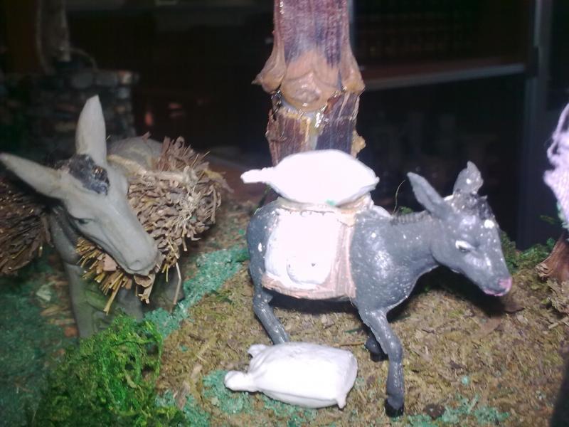 Descanso Animales. Belén de Pepita Mompo