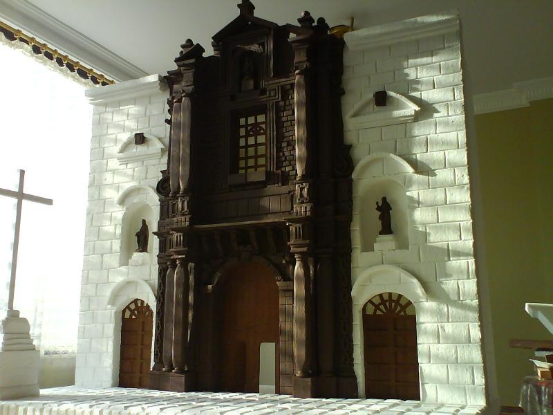 PESEBRE DEL BICENTENARIO DE PAUL FONSECA. Belén de Paul Fonseca (Quito)
