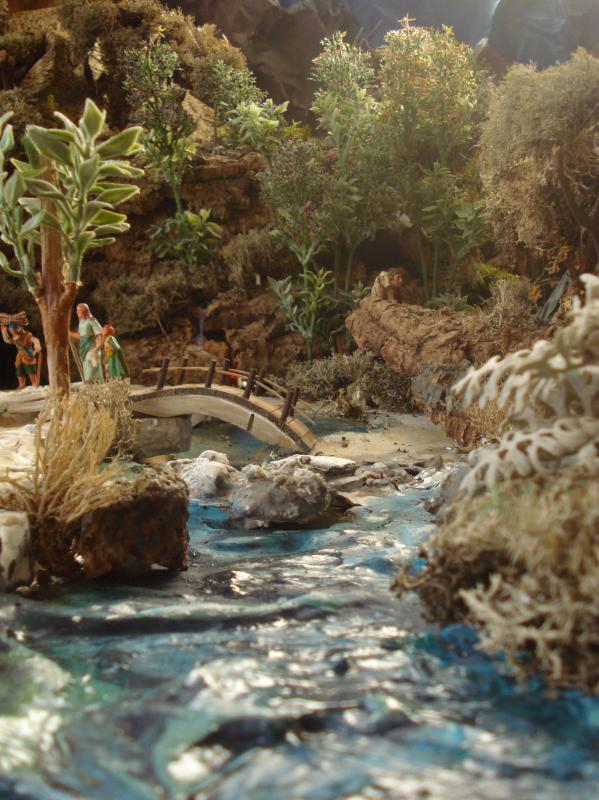 Nazaret - Detalle del rio.. Belén de Joaquin S. Font (Barcelona)