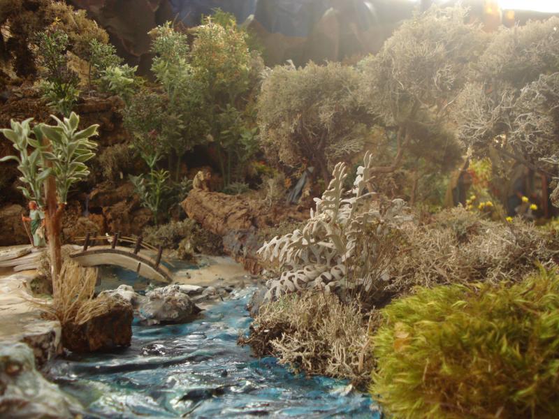 Nazaret - El rio. Belén de Joaquin S. Font (Barcelona)