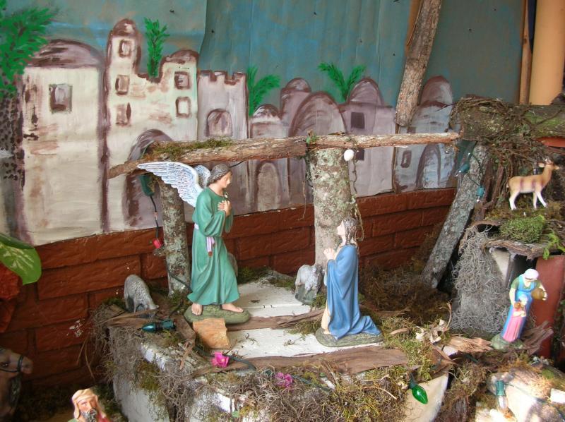 Anunciación del Ángel a María. Belén de Adriana (Valera)
