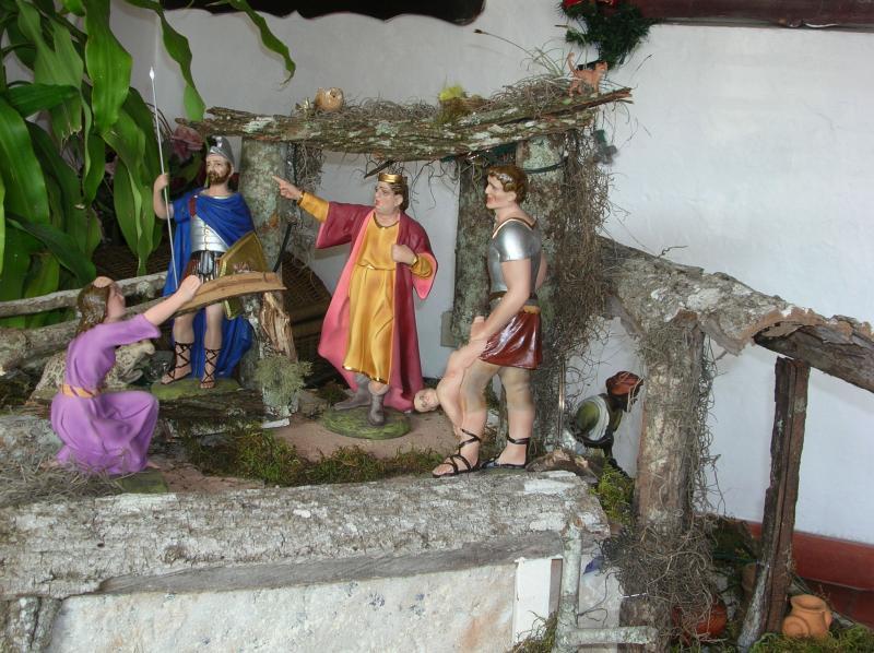 la matanza de los santos inocentes. Belén de Adriana (Valera)