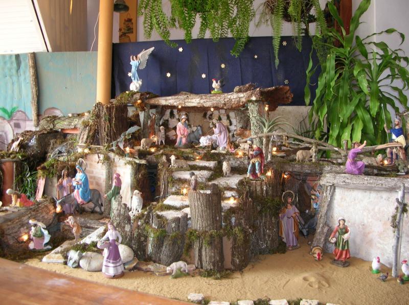 ee86848640c Pesebre de Nancy Abreu - Belén de Adriana - Fotos de Navidad Digital