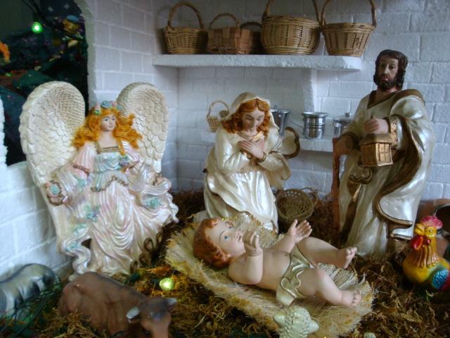 sagrada familia. Belén de Albert Reyes Elguera (Lurin, Lima)