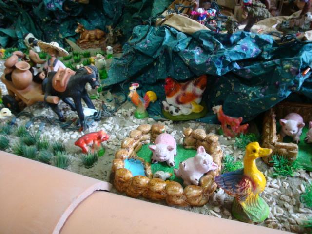 animalitos. Belén de Albert Reyes Elguera (Lurin, Lima)