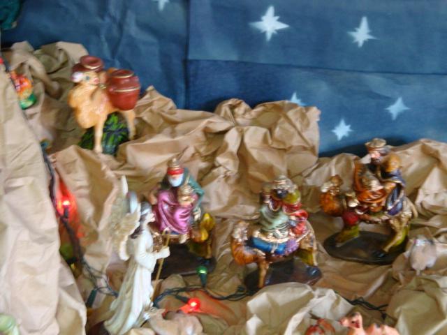 reyes magos. Belén de Albert Reyes Elguera (Lurin, Lima)