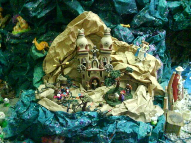yunsa. Belén de Albert Reyes Elguera (Lurin, Lima)
