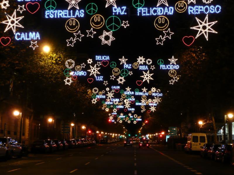 Palabras y símbolos. Navidad 2008 en Madrid