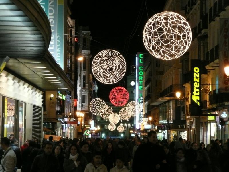 Navidad en Preciados 2008. Navidad 2008 en Madrid