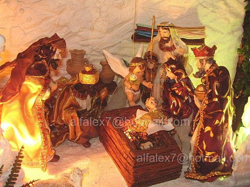 Los Reyes Magos. Belén de Alfredo Alexander Flores Juliac (Cumaná)
