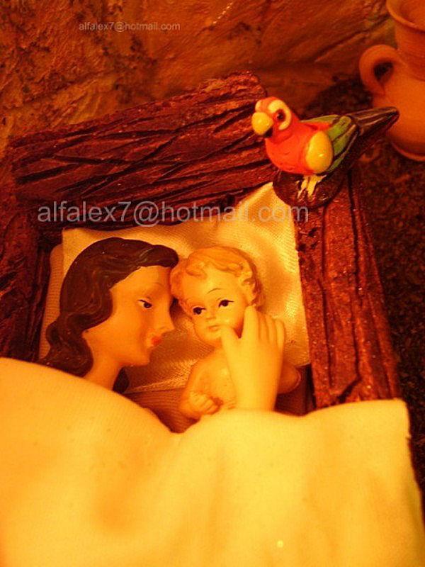 Amor Infinito Madre e Hijo. Belén de Alfredo Alexander Flores Juliac (Cumaná)