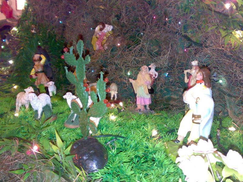 Los pastores. Belén de Jorge Zapata