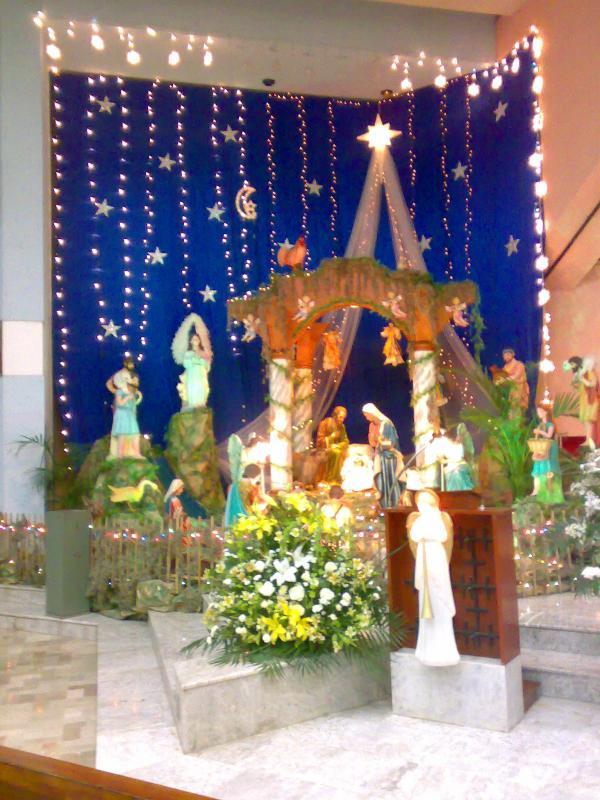 Pesebre de la Iglesia. Belén de Jorge Zapata