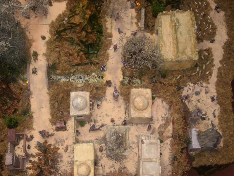 Panoramica del Pesebre. Belén de Ana Myrian Iragorri Sanchez (Popayan)