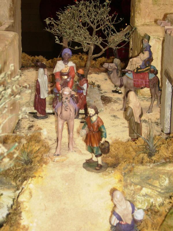 Llegada de los Reyes Magos. Belén de Ana Myrian Iragorri Sanchez (Popayan)