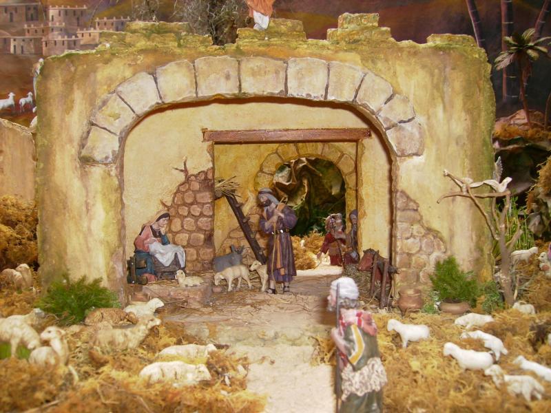 El Portal de Belen. Belén de Ana Myrian Iragorri Sanchez (Popayan)